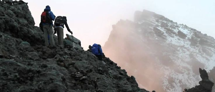 Mount Meru is a dormant stratovolcano located 70 kilometres west of Mount Kilimanjaro in the country of Tanzania. http://wildrootsafaris.com/trekking/