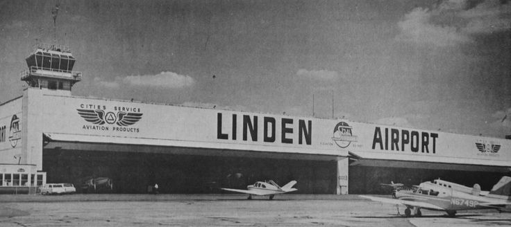 Linden Airport In Linden Nj 1962 Vintage Union County