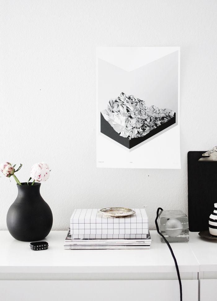 Block Lamp by Harri Koskinen for Design House Stockholm. The home of Jennifer Hagler / A merry mishap blog.