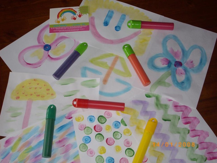 Paint Sticks No Mess No Fun  Pack Of Paint Sticks Valued At $20.00
