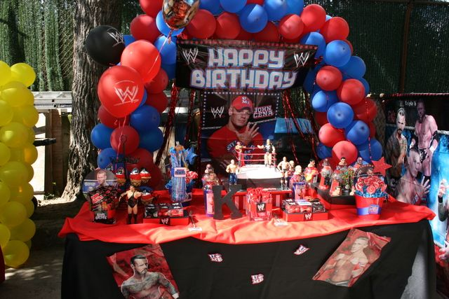 WWE wrestling party!