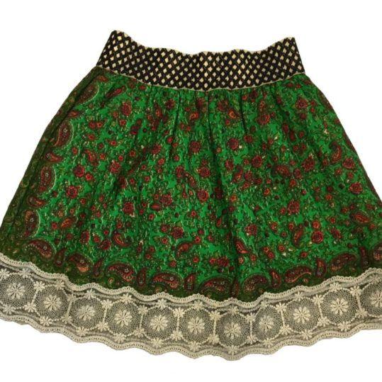 Fuste verde traditionala din maramures   #fusta #traditionala  #artizanat  #costume populare