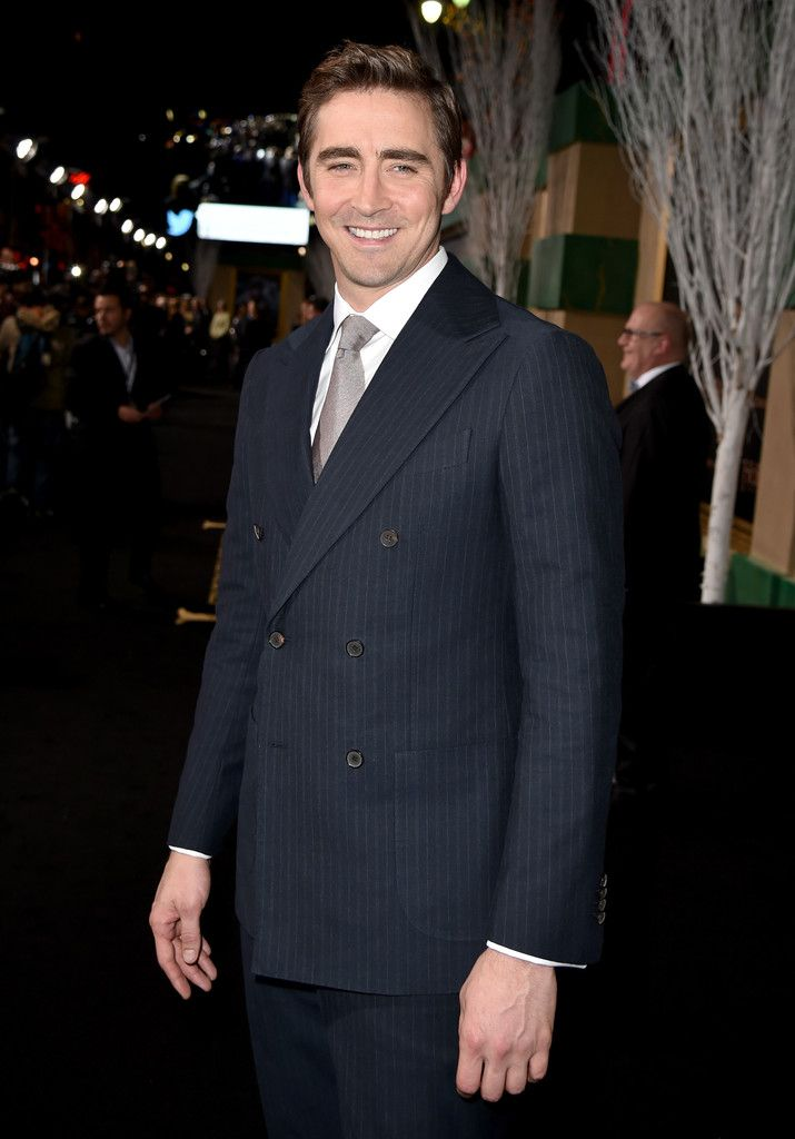 "Gorgeous bastard. {Premiere Of New Line Cinema, MGM Pictures And Warner Bros. Pictures' ""The Hobbit: The Battle Of The Five Armies"" - Red Carpet}"