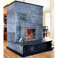 soapstone fireplace | Masonry Heater with hearth from Green Mountain Soapstone
