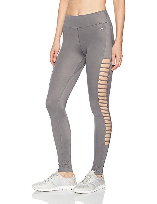 133e4fda1a162 Maaji Women's Camera Roll Essential Long Legging, Light Gray, M ad | more  workout n yoga clothes | Workout leggings, Ladies gym wear, Fall leggings