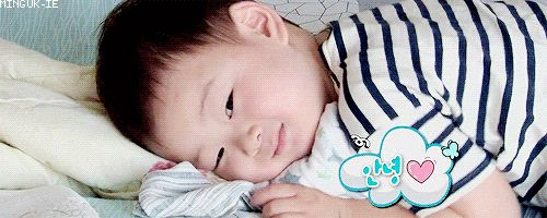 Morning angel Minguk says hi | The Return of Superman