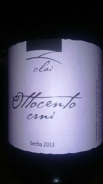 Giorgio Clai - Istrian red wine