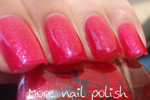 More Nail Polish: Girly Bits - Fall Season Premiere Collection Dancing Phalanges