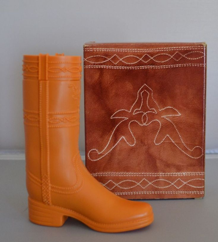 #Vintage #Avon EMPTY Dingo #Boot Wild Country After Shave Hard Plastic Boot #Bottle