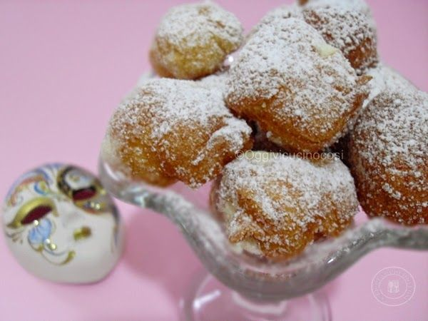 ©Oggi vi cucino così!: Bignole di Carnevale con crema al limoncello