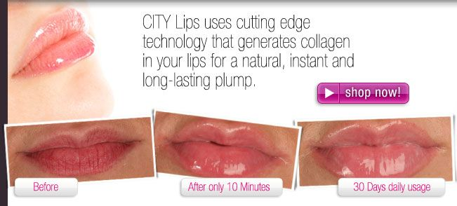 Tested and proven to be the best lip plumper available.  CITYLips uses cutting edge technology that generates collagen in your lips for a natural, instant and long-lasting plump without the cost or risk of injections or surgery.