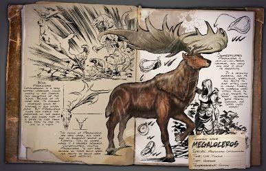 Megaloceros Dossier  #gaming #gamer #ark #survival #evolved