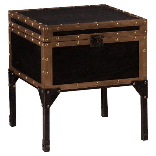 Southern Enterprises Drifton Travel Trunk End Table (Love these for nightstands)