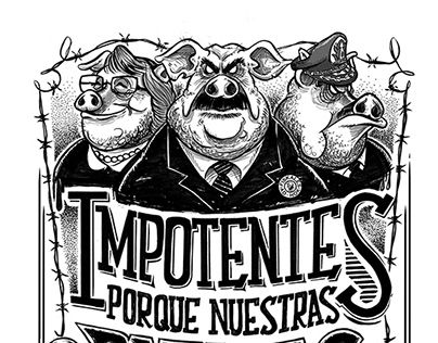 "Check out new work on my @Behance portfolio: ""Impotentes"" http://be.net/gallery/44687019/Impotentes"