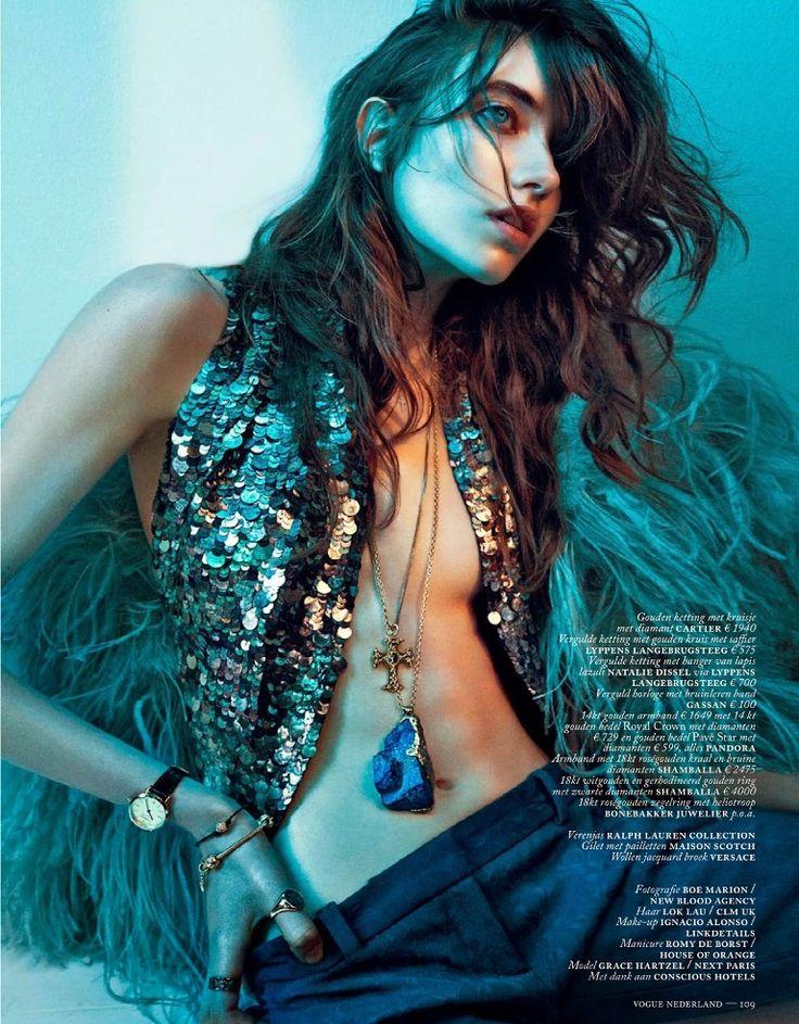 Vogue Netherlands September 2014 | Grace Hartzel by Boe Marion
