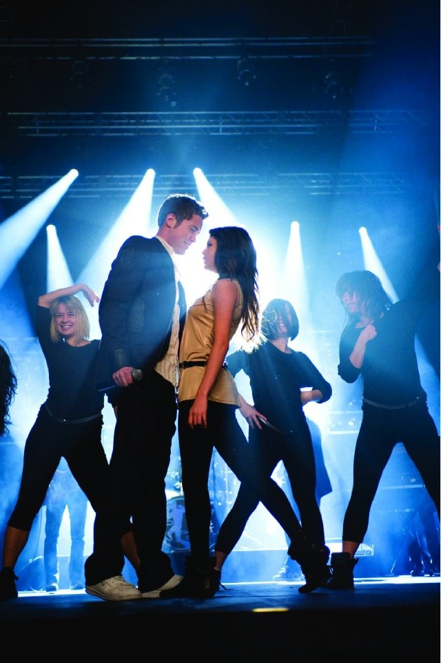 Still of Drew Seeley and Selena Gomez in Another Cinderella Story