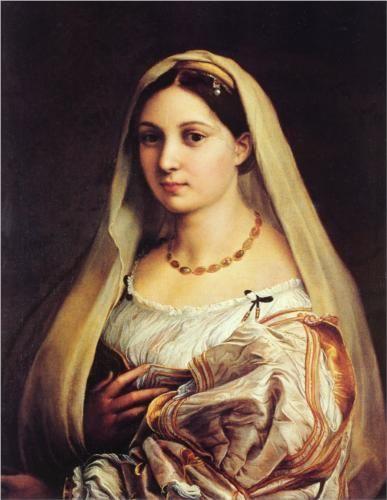 The Veiled Woman, or La Donna Velata  - Raphael