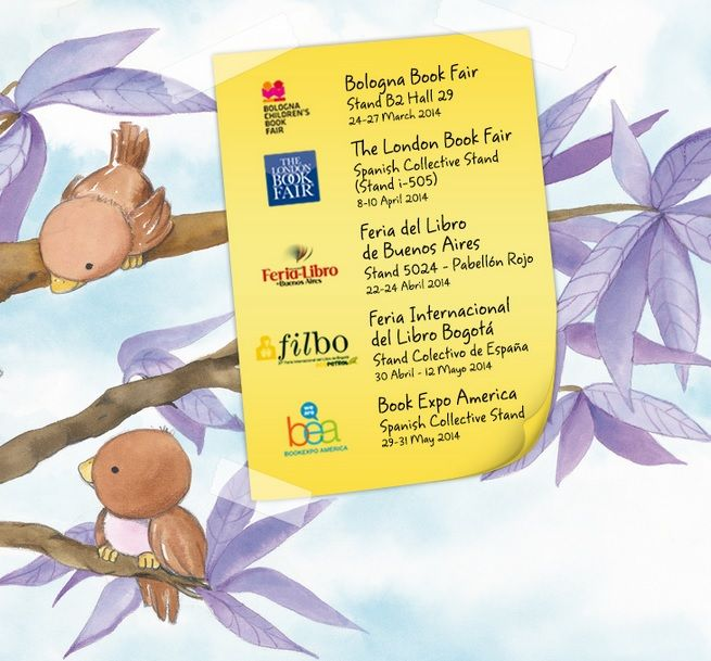 Find Gemser this spring at the following Book Fairs: Bologna, London, Buenos Aires, Bogotá and New York!
