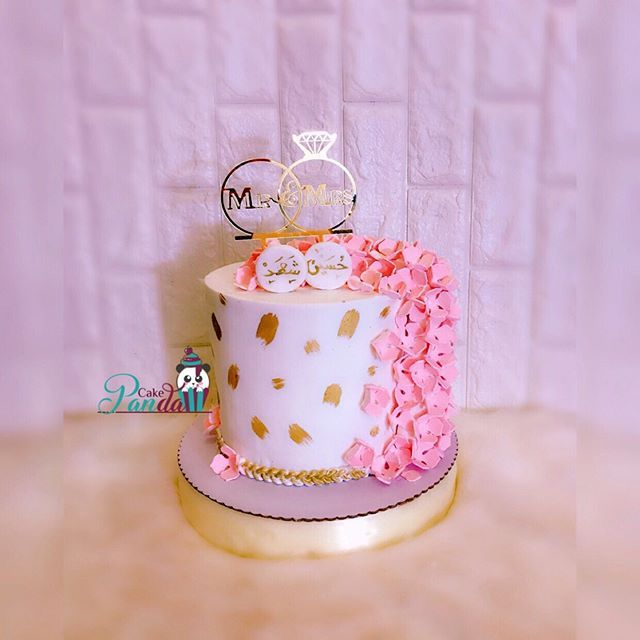 New The 10 Best Dessert Ideas Today With Pictures كيكة عقد قرآن حسب الطلب Panda Cake Basra كيكات زواج كيكات نجاح Paper Flowers Diy Cake Coffee Quotes