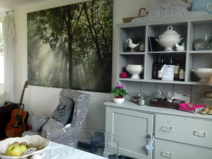 Broc Chic -Wall Art and dresser