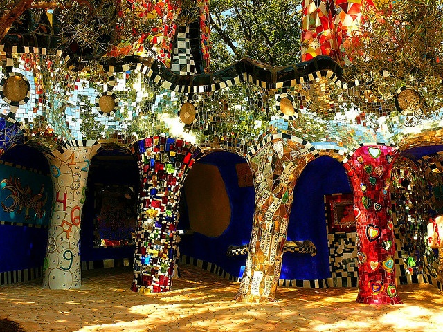 Tarot-Garden of Niki de Saint Phalle by eagle-ffm, via Flickr