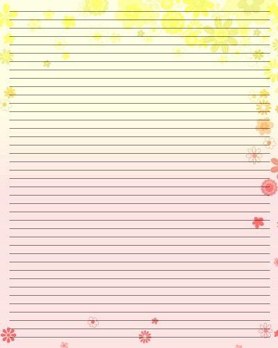323 best PRINTABLES images on Pinterest Writing paper, Moldings - printable loose leaf paper