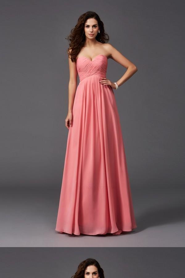 40b6e51dfa12 A-Line Bridesmaid Dress