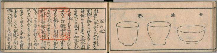 "Sencha tebiki no tane (""A Concise Dictionary of Sencha"") / Yamamoto Toryuken, Katsushika Oi 国会図書館デジタルコレクション 煎茶手引の種 山本都竜軒 著 葛飾応為 画 1848年"