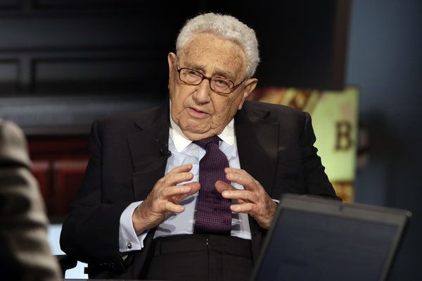Famous refugees: Nobel Peace Prize winner and former U.S. Secretary of State Henry Kissinger fled Nazi persecution with his family and settled in New York in 1938.