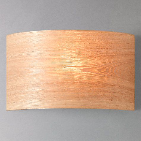 John Lewis Wall Light Fittings: Buy John Lewis Harry Wood FX Wall Washer Online at johnlewis.com,Lighting
