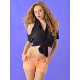 Pantalones Corto de Mujer Naranja PA182