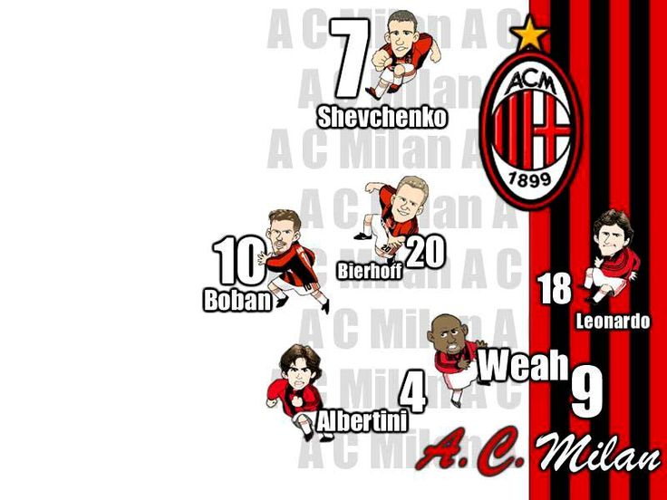 legend.. wait for it.dary from ac milan