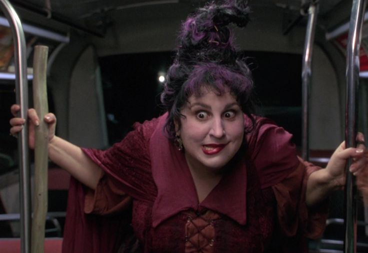 February 6: Kathy Najimy! Pictured here as Mary, one of the three Sanderson sisters, in the movie, 'Hocus Pocus' (1993).