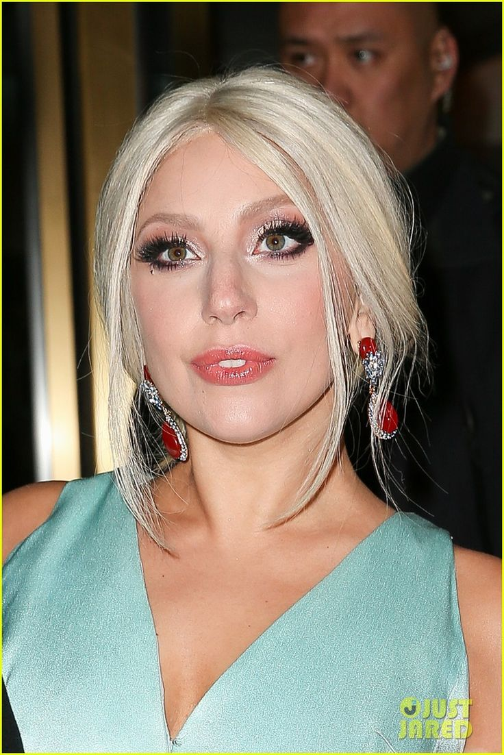 Lady Gaga Celebrates Joining the 'American Horror Story' Cast   lady gaga photoshoot in back of car 02 - Photo