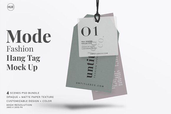 Download Mode Fashion Hang Tag Mock Up Hang Tags Branding Mockups Mockup
