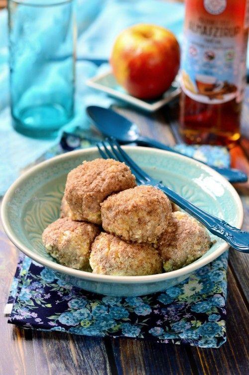 Fahéjas almával töltött túrógombóc recept