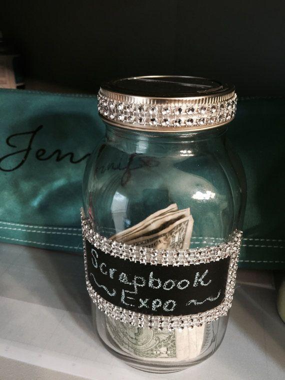 1000 ideas about coin jar on pinterest mason jar bank for Savings jar ideas
