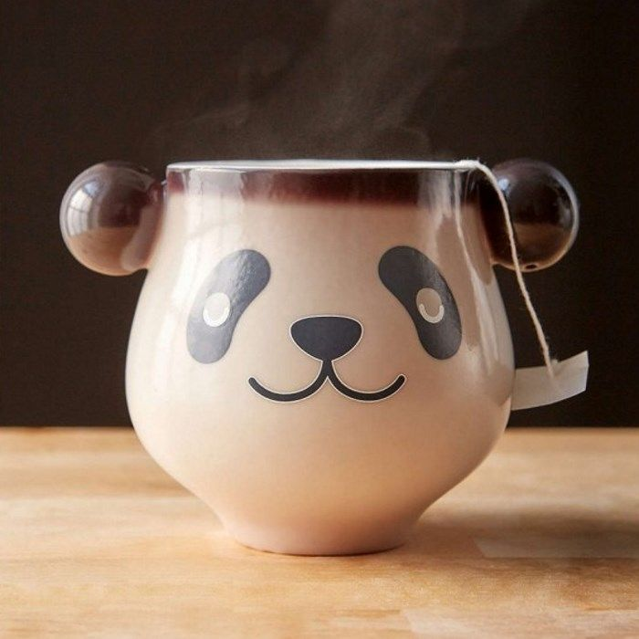 Mug Panda qui se Réveille