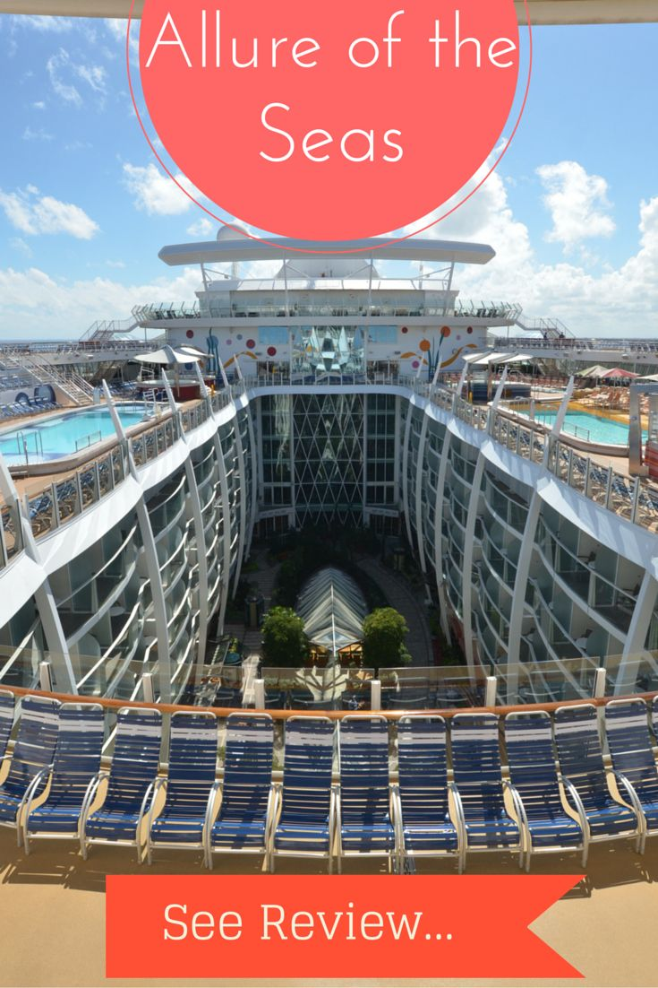 Allure of the Seas review and video showing you what to expect when you sail on this marvelous Royal Caribbean ship.  http://cruisefever.net/allure-of-the-seas-review/