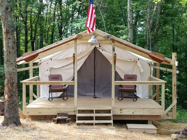 27 best canvas wall tent camping images on pinterest for How to build a wall tent