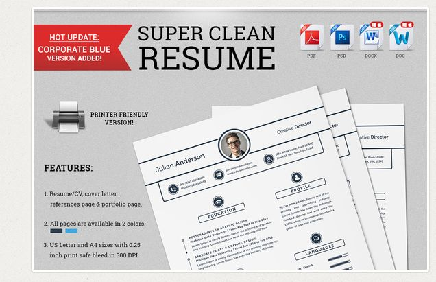 22 Professional Resume Templates Feb 2015