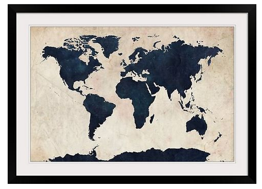 27 best World Maps images on Pinterest World maps, Antique maps - best of world map fabric bunting