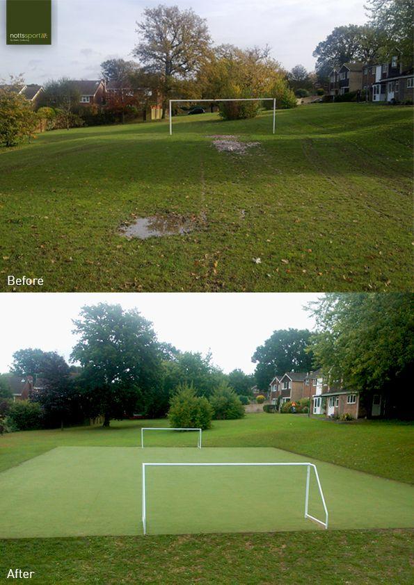 Haywards Heath new and upgraded football facility #NSchildsplay