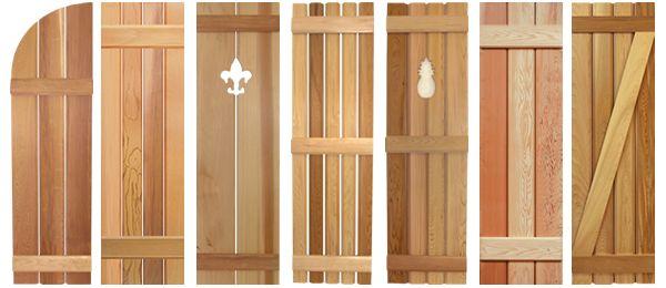 craftsman shutters | Southern Shutter Company | Board and Batten Shutters