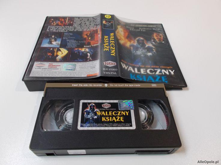 WALECZNY KSIĄŻĘ - Kaseta Video VHS - Opole 1493 (Opole)