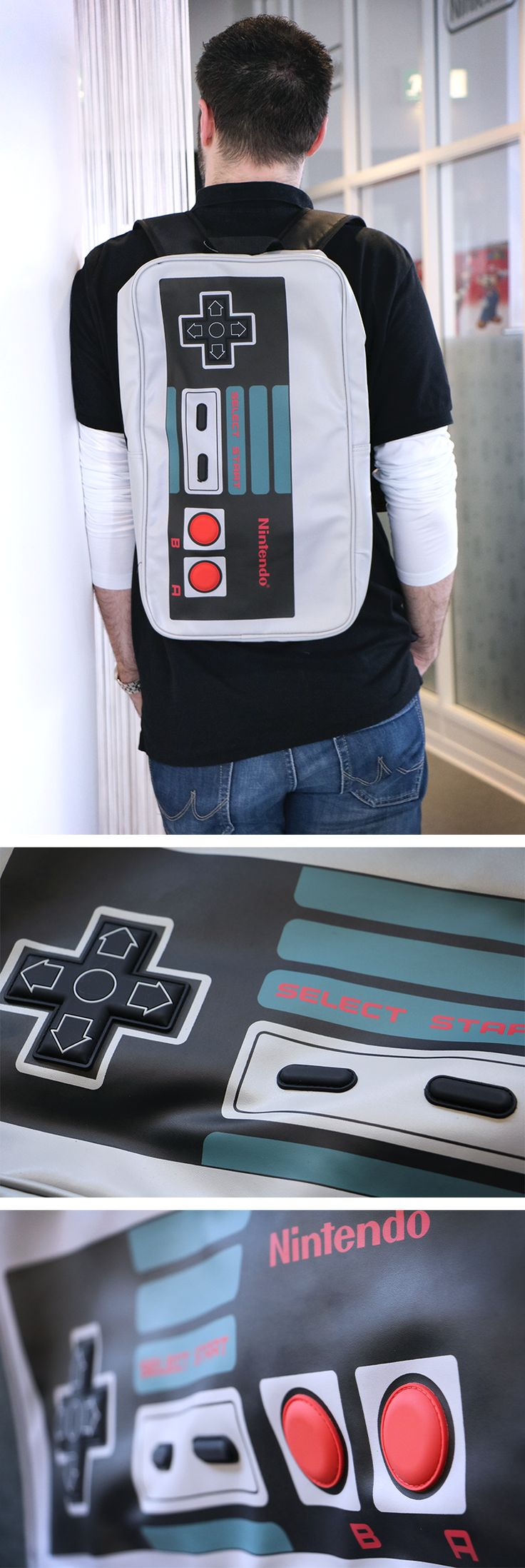 NES Controller - Backpack