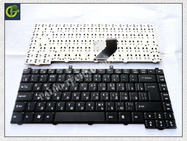 5PC/LOT Russian Keyboard for Acer Extensa 5200 5510 RU Black laptop keyboard
