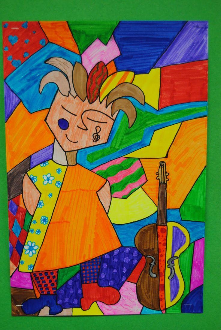 mrs. heller's art blog: being britto grade 7