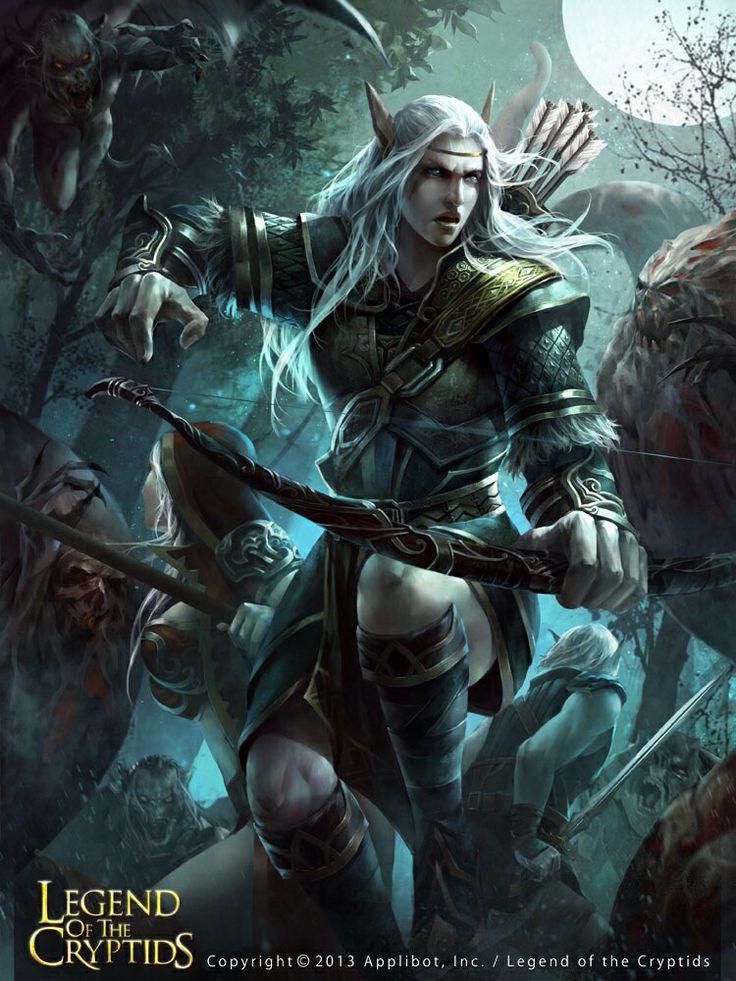 Schwarzwaldelven- Warrior or maybe Grandian Forestelf- Warrior After the City has been destroyed