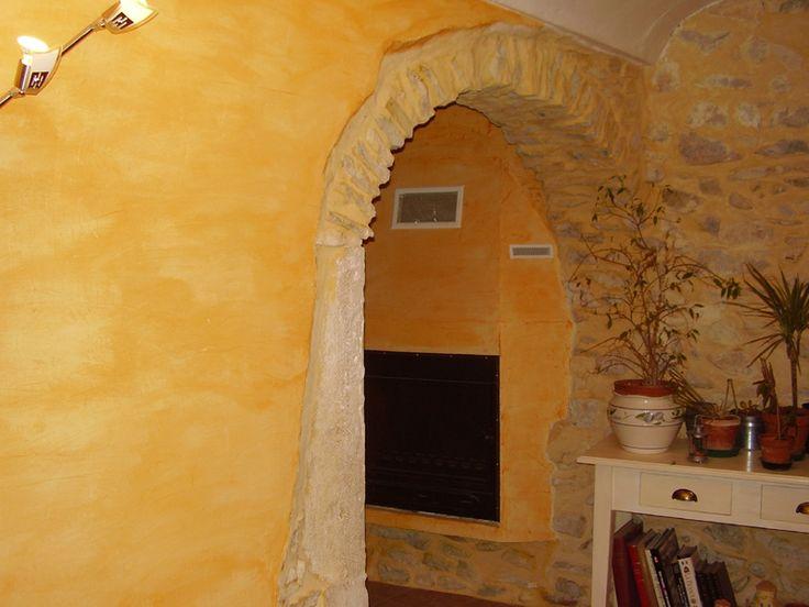 17 best images about mediterranean interiors on pinterest - Decoration stucco peinture ...